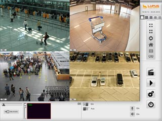 software für max. 36 Kameras inklusive