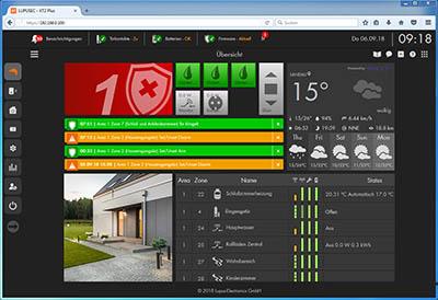 Fenstertürkontaktanzeige im WebUI