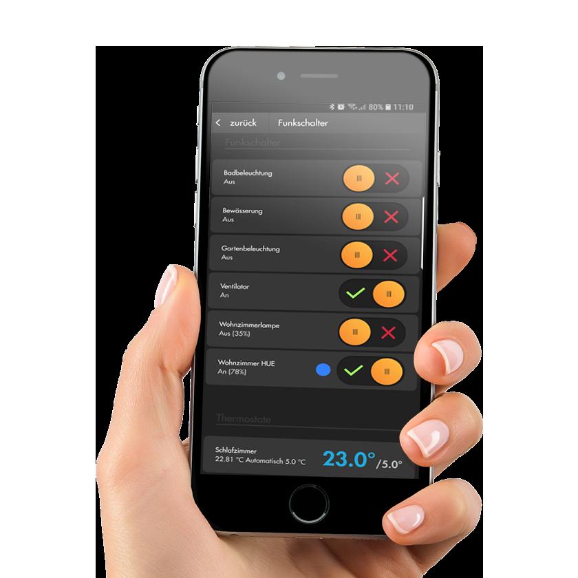 Die neue LUPUS - App