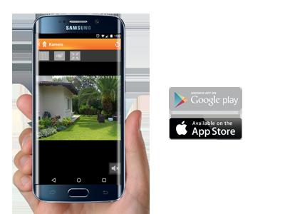Die LUPUSEC Android und iPhone APP
