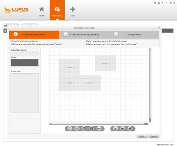 Moderne und intuitive IP Kamera Software