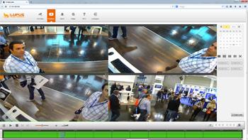 Moderne und intuitive IP Kamera Software