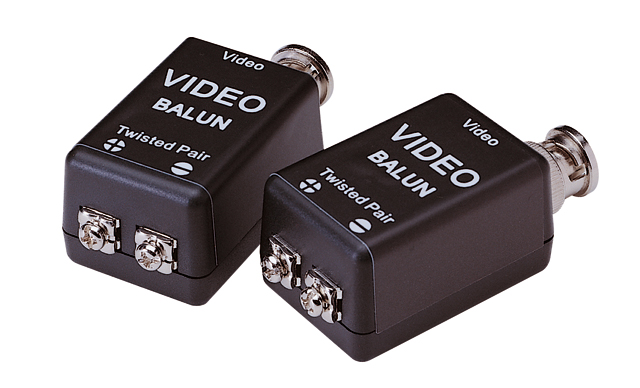 Balun (pair) for one analogue camera