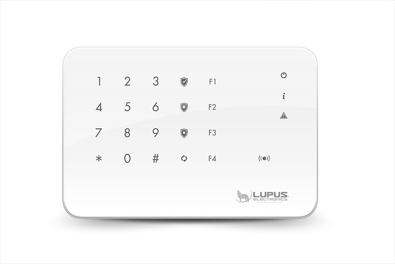 LUPUSEC - Outdoor Keypad V2
